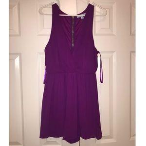 Boutique purple romper ✨